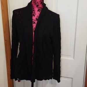 Comfy black sweater